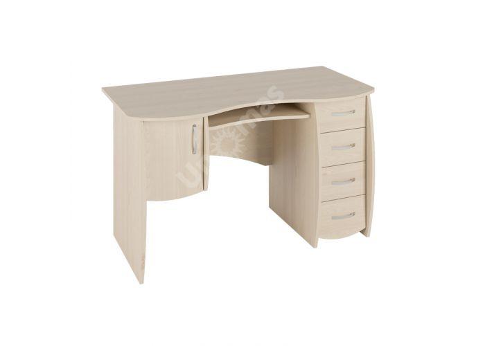Стол письменный С 109 Береза снежная, Офисная мебель, Компьютерные и письменные столы, Стоимость 7148 рублей.
