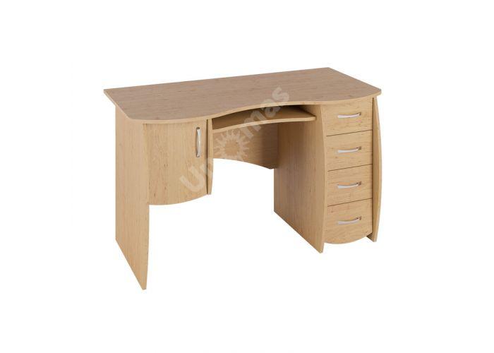 Стол письменный С 109 Ольха, Офисная мебель, Компьютерные и письменные столы, Стоимость 7148 рублей.