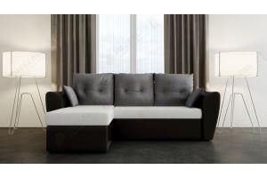 Диван-кровать угловой Ватсон с мягкими подлокотниками