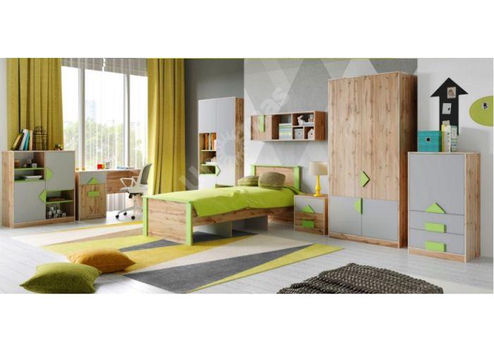 Марио 900 кровать 01 категория, Спальни, Кровати, Стоимость 16485 рублей., фото 4