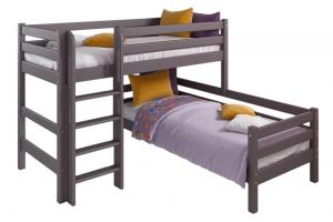 Угловая кровать Соня с прямой лестницей Вариант 7