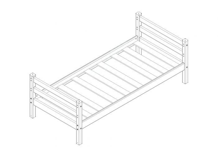 Кровать Соня Вариант 1, Детская мебель, Детские кровати, Стоимость 10081 рублей., фото 2