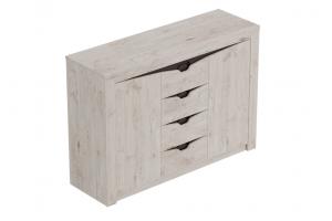 Соренто, Тумба с 4 ящиками и 2 дверцами