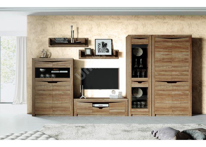Соренто Тумба ТВ с 2 дверцами и ящиком, Гостиные, ТВ Тумбы, Стоимость 9554 рублей., фото 2