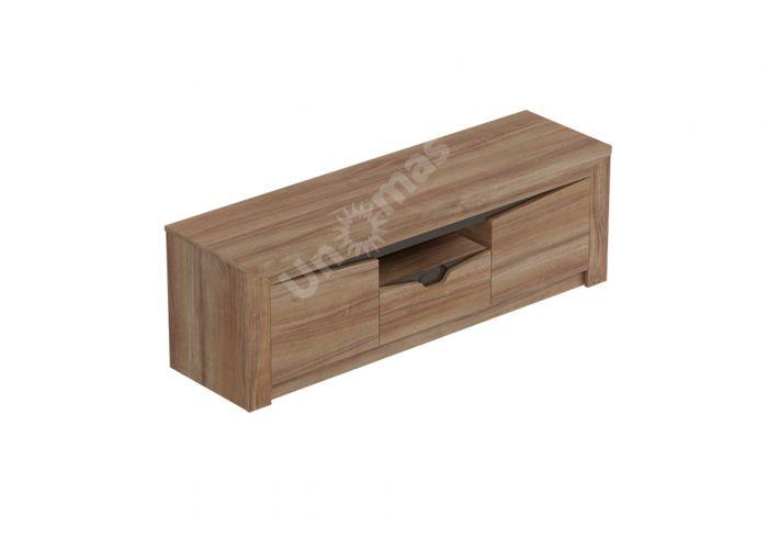 Соренто Тумба ТВ с 2 дверцами и ящиком, Гостиные, ТВ Тумбы, Стоимость 9554 рублей., фото 3