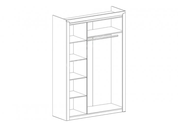 Соренто, Шкаф 3-х дверный, Спальни, Шкафы, Стоимость 25504 рублей., фото 7