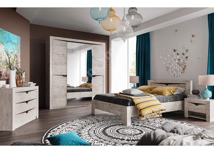 Соренто, Шкаф 3-х дверный, Спальни, Шкафы, Стоимость 25504 рублей., фото 6