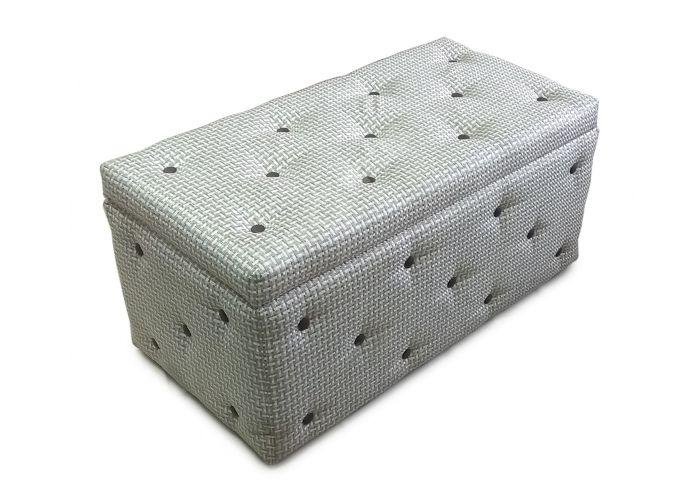 Пуф-тумба Рогожка, Мягкая мебель, Пуфики, Стоимость 5180 рублей.