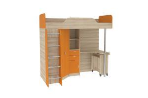 Ника, Кровать-чердак со столом 427 Т