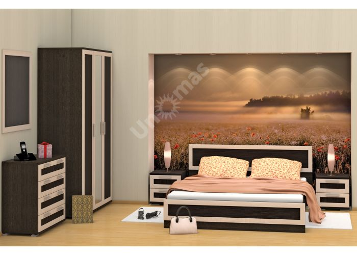 Верона, Кровать 502 К 140 (ортопедическое основание в комплекте), Спальни, Кровати, Стоимость 11249 рублей., фото 2