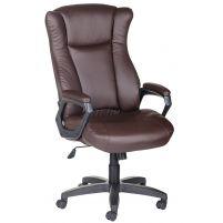 Кресло руководителя Адмирал ультра /К/Ст./ топ-ган к/з КО коричневый
