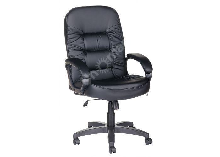 Кресло руководителя Болеро ультра /К/Ст. к/з КО черный, Офисная мебель, Кресла руководителя, Стоимость 9174 рублей.