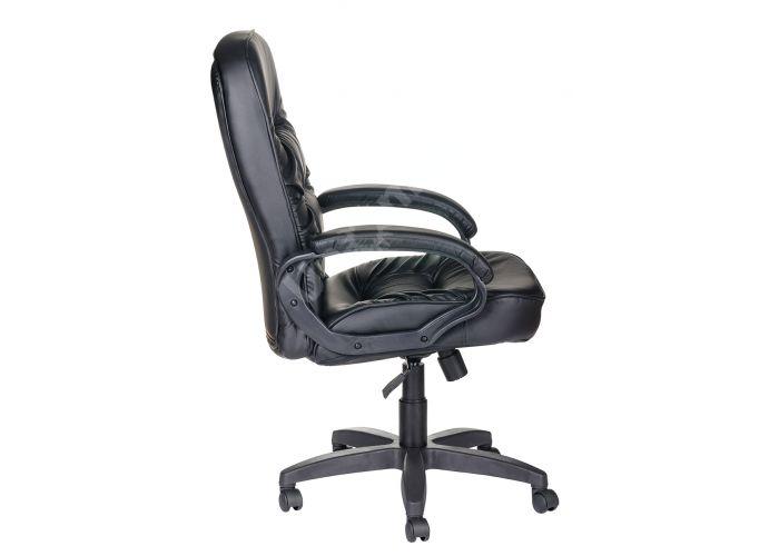 Кресло руководителя Болеро ультра /К/Ст. к/з КО черный, Офисная мебель, Кресла руководителя, Стоимость 9174 рублей., фото 3