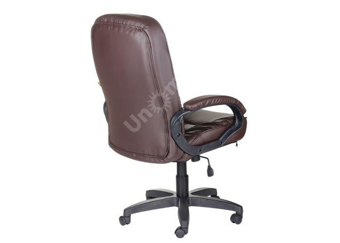 Кресло руководителя Болеро ультра /К/Ст. к/з КО коричневый, Офисная мебель, Кресла руководителя, Стоимость 9174 рублей., фото 3