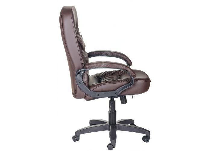 Кресло руководителя Болеро ультра /К/Ст. к/з КО коричневый, Офисная мебель, Кресла руководителя, Стоимость 9174 рублей., фото 2