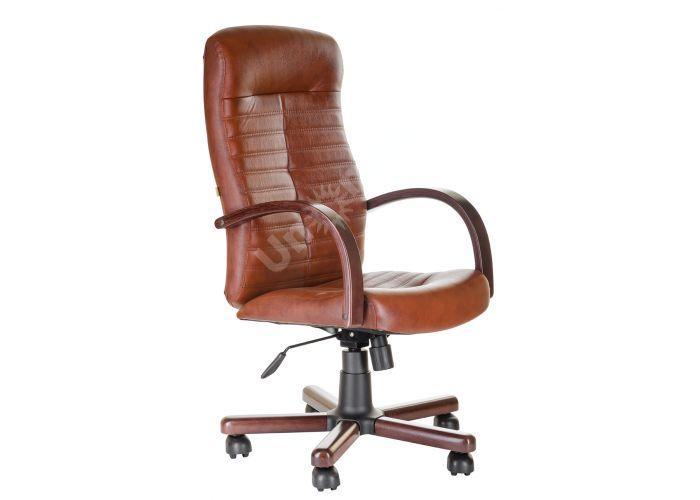 Кресло руководителя Консул /К/ Экстра кожа 6030U70R палисандр, Офисная мебель, Кресла руководителя, Стоимость 19961 рублей.