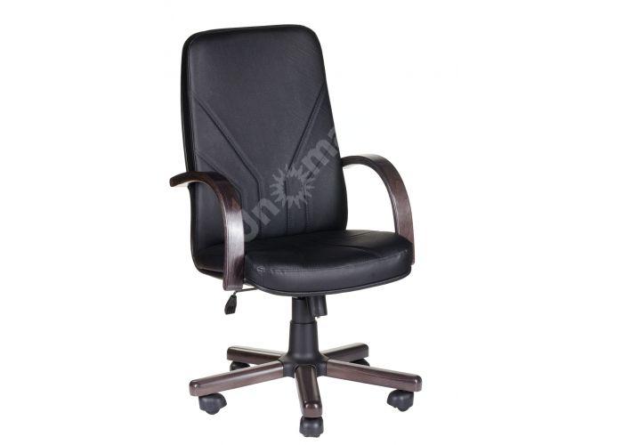 Кресло руководителя Менеджер /К/ Экстра кожа черный орех, Офисная мебель, Кресла руководителя, Стоимость 17258 рублей.