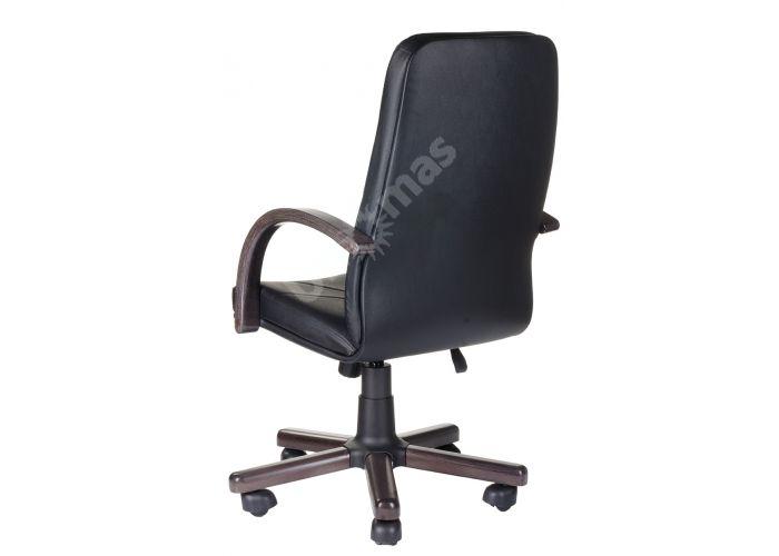 Кресло руководителя Менеджер /К/ Экстра кожа черный орех, Офисная мебель, Кресла руководителя, Стоимость 17258 рублей., фото 3