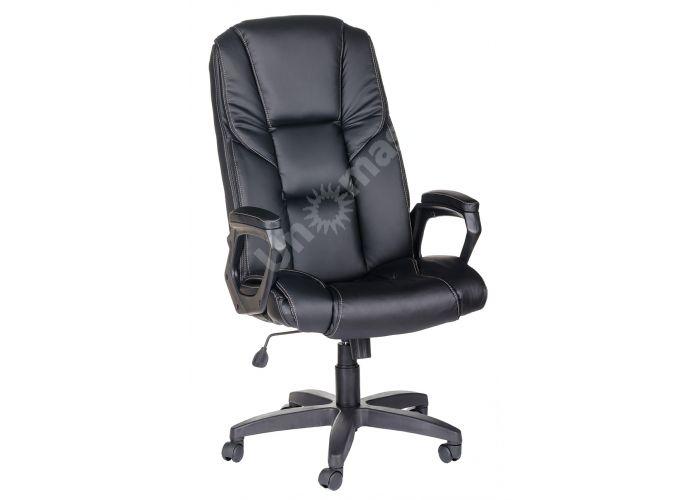 Кресло руководителя Одиссей ультра /К/Ст./ топ-ган к/з КО черный, Офисная мебель, Кресла руководителя, Стоимость 12253 рублей.