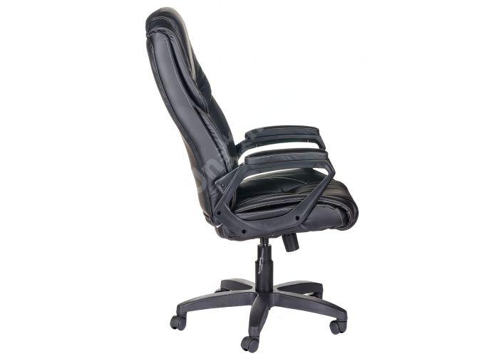 Кресло руководителя Одиссей ультра /К/Ст./ топ-ган к/з КО черный, Офисная мебель, Кресла руководителя, Стоимость 12253 рублей., фото 3