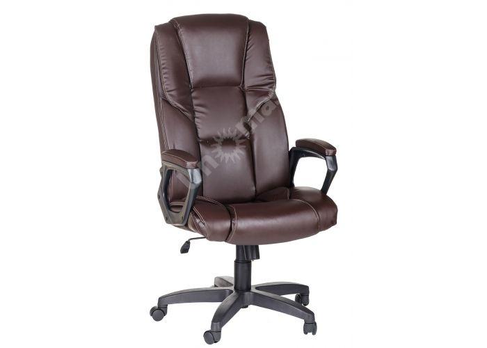 Кресло руководителя Одиссей ультра /К/Ст./ топ-ган к/з КО коричневый, Офисная мебель, Кресла руководителя, Стоимость 12253 рублей.