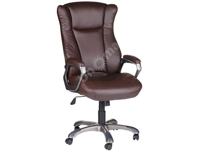 Кресло руководителя Адмирал ультра /К/ЛЮКС/ топ-ган к/з КО коричневый, Офисная мебель, Кресла руководителя, Стоимость 13843 рублей.