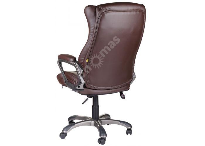 Кресло руководителя Адмирал ультра /К/ЛЮКС/ топ-ган к/з КО коричневый, Офисная мебель, Кресла руководителя, Стоимость 13843 рублей., фото 3