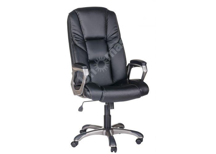 Кресло руководителя Одиссей ультра /К/ЛЮКС/ топ-ган к/з КО черный, Офисная мебель, Кресла руководителя, Стоимость 14041 рублей.
