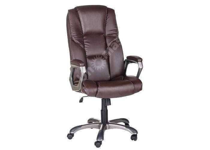 Кресло руководителя Одиссей ультра /К/ЛЮКС/ топ-ган к/з КО коричневый, Офисная мебель, Кресла руководителя, Стоимость 14041 рублей.
