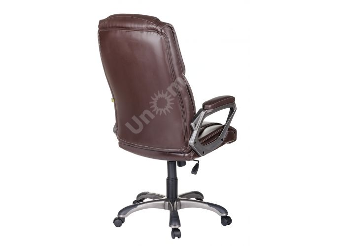 Кресло руководителя Одиссей ультра /К/ЛЮКС/ топ-ган к/з КО коричневый, Офисная мебель, Кресла руководителя, Стоимость 14041 рублей., фото 3