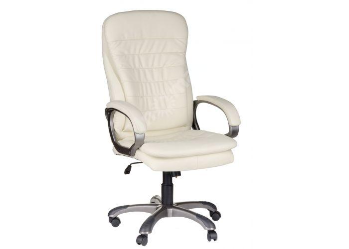 Кресло руководителя Силуэт ультра /К/ЛЮКС/ топ-ган к/з бежевый, Офисная мебель, Кресла руководителя, Стоимость 14200 рублей.