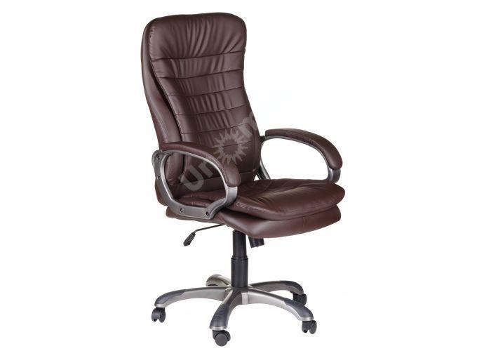 Кресло руководителя Силуэт ультра /К/ЛЮКС/ топ-ган к/з коричневый, Офисная мебель, Кресла руководителя, Стоимость 14200 рублей.