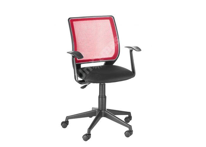 Кресло оператора Эксперт /Т-Эрго спинка TW красный / сиденье TW-11 черный, Офисная мебель, Кресла оператора, Стоимость 4549 рублей.