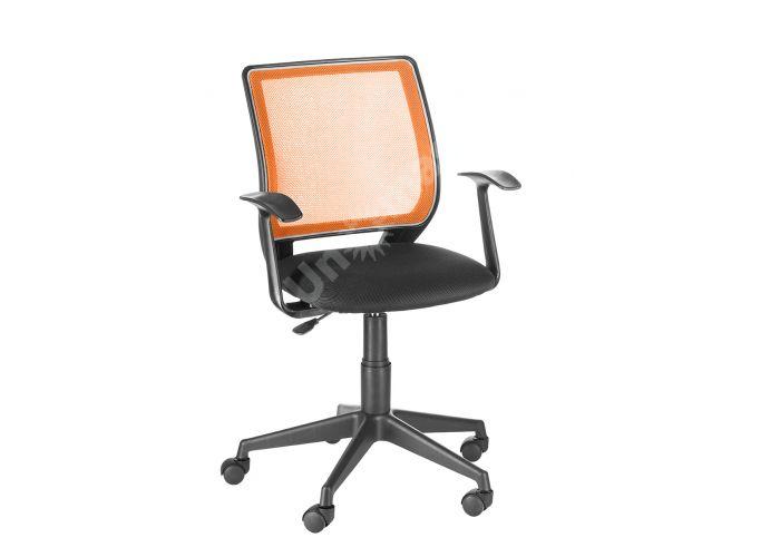 Кресло оператора Эксперт /Т-Эрго спинка TW оранжевый / сиденье TW-11 черный, Офисная мебель, Кресла оператора, Стоимость 4549 рублей.
