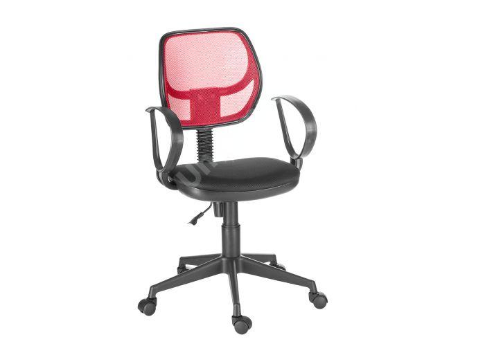 Кресло оператора Флеш profi/Рондо cпинка TW красный / сиденье TW-11 черный, Офисная мебель, Кресла оператора, Стоимость 4103 рублей.