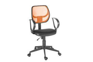 Кресло оператора Флеш profi/Рондо cпинка TW оранжевый / сиденье TW-11 черный