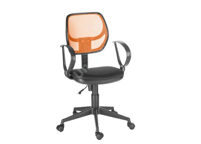 Кресло оператора Флеш profi/Рондо cпинка TW оранжевый / сиденье TW-11 черный, Офисная мебель, Кресла оператора, Стоимость 4103 рублей.