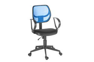 Кресло оператора Флеш profi/Рондо cпинка TW синий / сиденье TW-11 черный