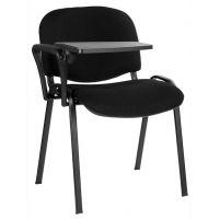 Стулья для посетителей Изо+столик /черная рама