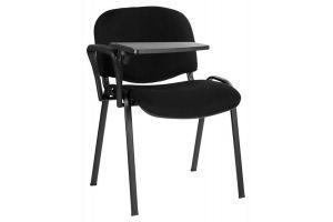 Стулья для посетителей Изо+столик /хром. рама