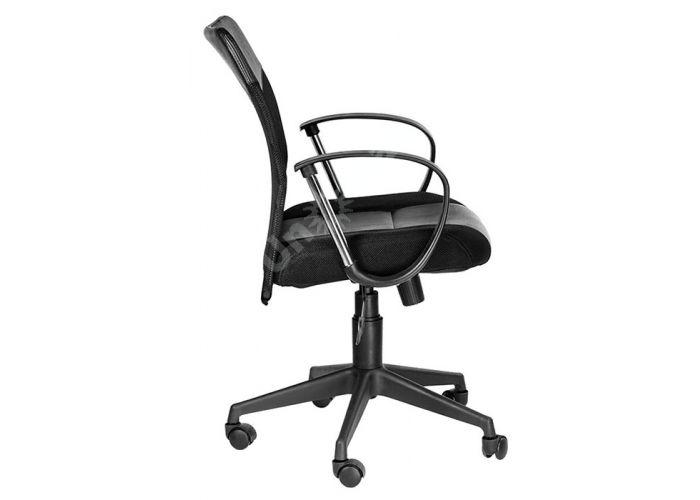 Кресло руководителя Оксфорд М Люкс /Tw-11+Кожзам Чёрный, Офисная мебель, Кресла руководителя, Стоимость 7498 рублей., фото 3