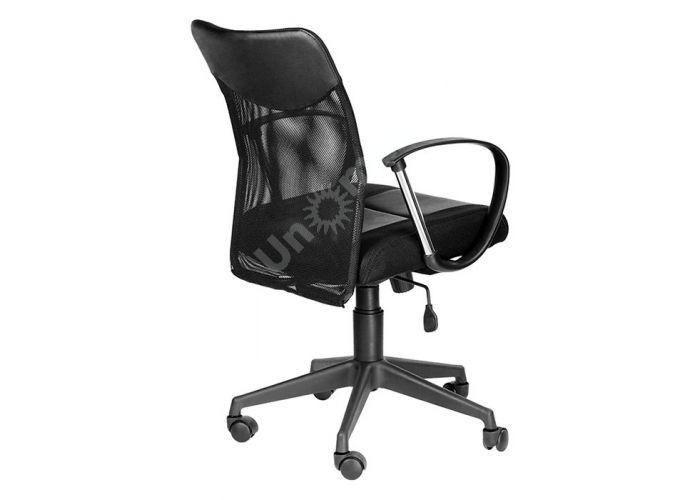 Кресло руководителя Оксфорд М Люкс /Tw-11+Кожзам Чёрный, Офисная мебель, Кресла руководителя, Стоимость 7757 рублей., фото 2
