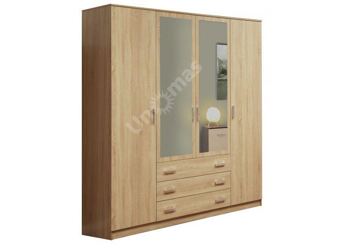 06.292 Шкаф комбинированный с зеркалом, Спальни, Шкафы, Стоимость 22289 рублей.