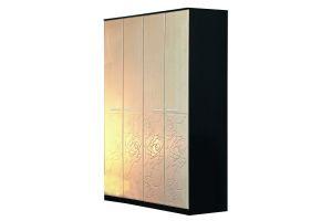 Розалия, 06.38 шкаф для одежды (каркас) + Дверь 2188х396 МДФ (4 шт.)