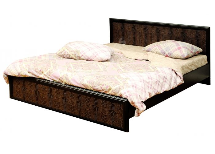 Волжанка, 06.02 Кровать с настилом (спальное место 1600*2000), Спальни, Кровати, Стоимость 8577 рублей.