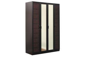Волжанка, 06.39 каркас + Дверь 2188*396 с зеркалом (2 шт) + Дверь 2188*396 кож.зам. (2 шт)