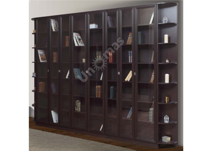 В-21 Шкаф комбинированный Венге, Офисная мебель, Офисные пеналы, Стоимость 2732 рублей., фото 2