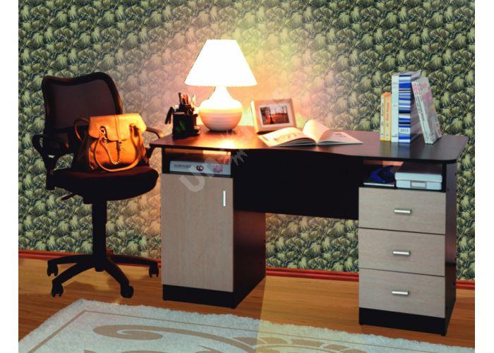 Стол письменный 2-х тумбовый , Офисная мебель, Компьютерные и письменные столы, Стоимость 6981 рублей.