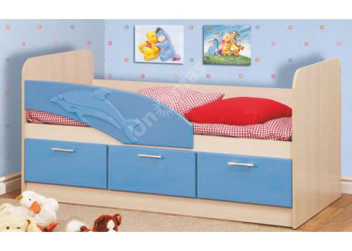 Кровать Дельфин 200 , Детская мебель, Детские кровати, Стоимость 8373 рублей.