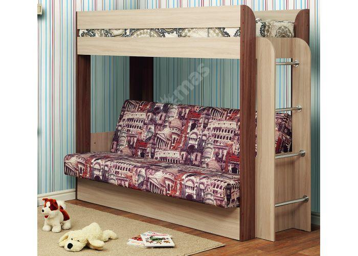 Немо кровать с матрацем, Детская мебель, Двухъярусные кровати, Стоимость 28215 рублей.